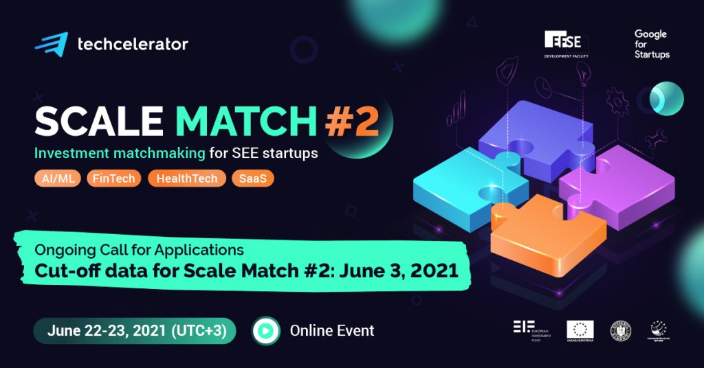 Techcelerator kicks off the second edition of Scale Match, a regional matchmaking event dedicated to high-tech startups